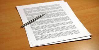 Carta de renúncia