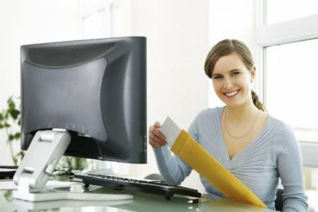 Modelo de currículo para assistente administrativo
