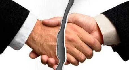 Modelo de rescisão de contrato