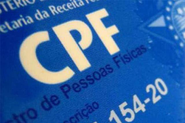Imagem de cartão CPF