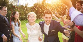 Modelos de convite para casamento durante o dia
