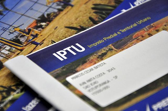 Cada cidade tem a sua legislação que trata exclusivamente da cobrança do IPTU